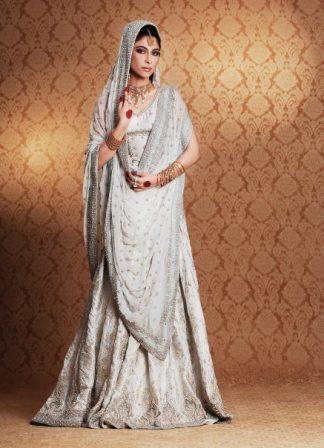 Ladies Fashion Clothes - Elegent White Bridal Dress