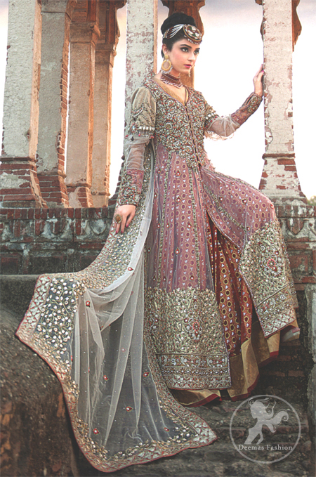 Double Layer Designer Wear Anarkali