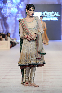 double-tone-frock-and-churidar