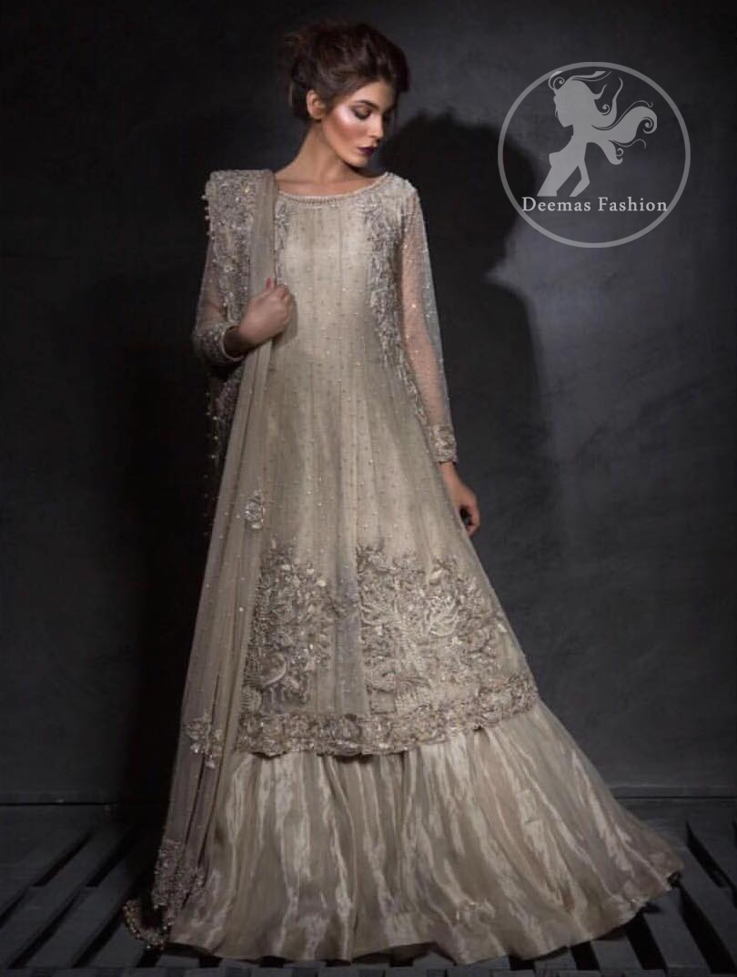 light-fawn-a-line-frock-lehenga-embroiderd-dupatta