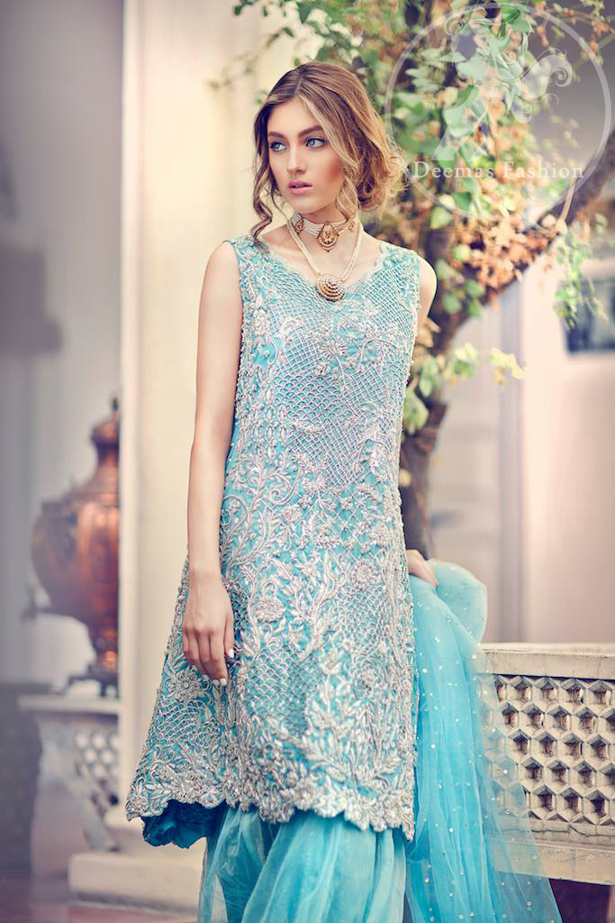 sky-blue-short-shirt-with-back-trail-sharara-2