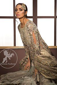 Light-Fawn-Embroidered-Bridal-Shirt-Dupatta-Gray-Gharara (2)