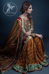 Multiple-Color-Traditional-Mehendi-Wear-Gharara (3)