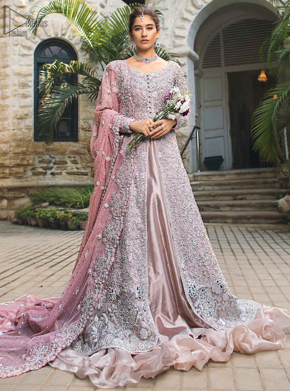 Intricate details, flamboyant silhouettes, and mastery of colour are what make this dress stand out from the rest.