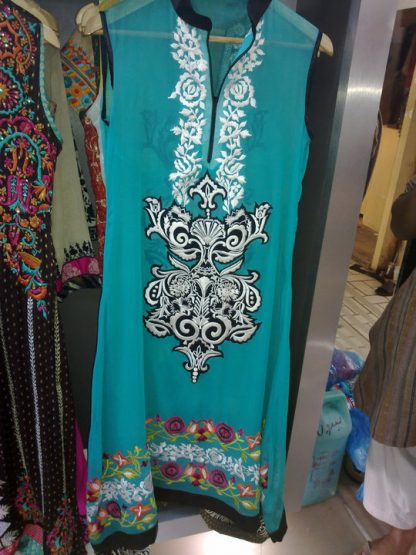 Buy Pakistani Designer Dress - Ferozi A-line Casual Clothes