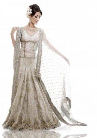 Pakistani Bridal Collection - Elegent White Lehnga