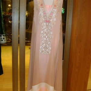 Latest Casual Dress - Peach Chiffon Designer Wear