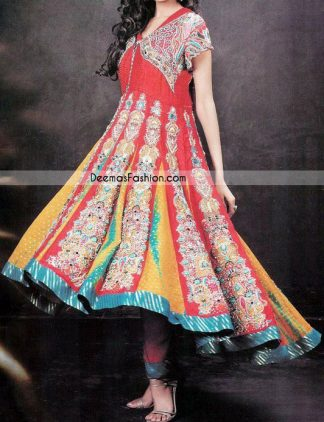 Latest Fashion Design – Multi Anarkali Frock