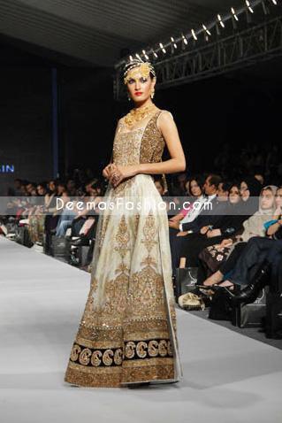 Latest Fashion Clothes - Chinese Style white Pishwas Dress