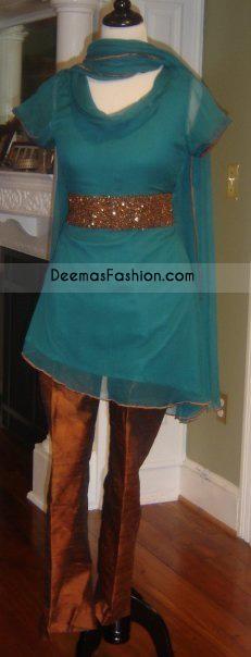 Turquoise Aline Shirt