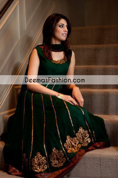 Ethnic Wear Net Green Anarkali Suit Ebsfsk09101k