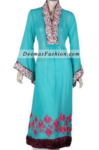 Ferozi Aline Casual Wear Embroidered Shirt