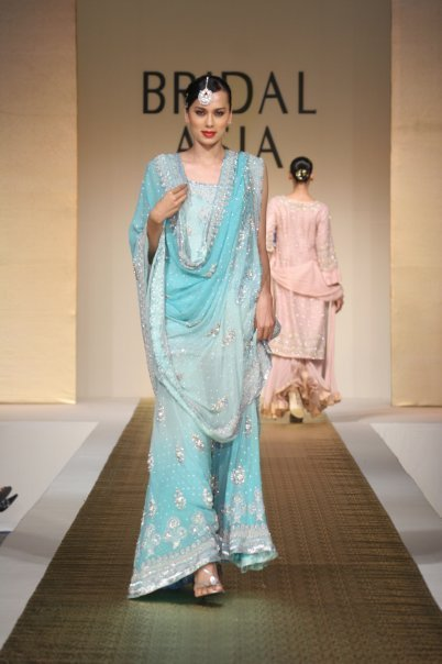 Bridal Wear Sale Light Blue Sharara