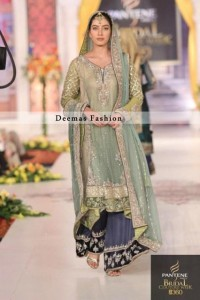 Light Green Aline Frock Trouser
