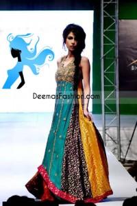 Latest Pakistani Designer Wear-Multi Pishwas