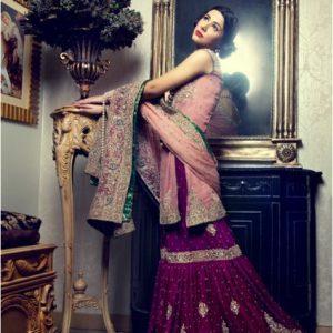 Pink & Majenta Gharara