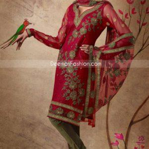 Red-Mehndi Green